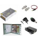 Video accessories, Power Supply, для видеокамер, Блок Питания, Переходник, Коннектор