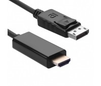 Display Port to HDMI Cable 1,8m