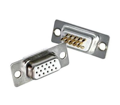 Разъём VGA-M (папа) 15pin (для пайки)