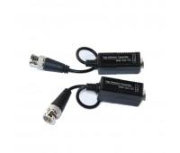 Video Balun AHD/CVI/TVI 1 Channel Passive Video Transceiver UTP UP 400m (комплект 2шт) VB300 HM-213A