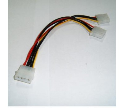 "Cable converter power supply 18cm (разветвитель питания) ""MOLEX/f"" на ""2 * MOLEX/m"""