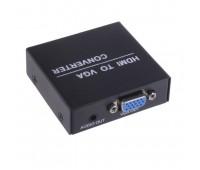 HDMI to VGA Converter, (вход HDMI, выход VGA + Audio L/R) + Cable Jack