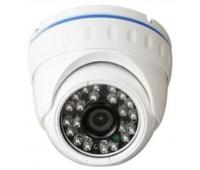 DB20-MHD200X, 4 IN 1(AHD,Analog ,TVI,CVI) Купольная, Металл, 2.1 MP 1080P, 3,6mm линза, IR-20m