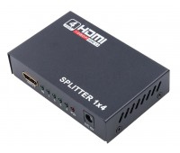 HDMI splitter 4 port ver.1.3b, High Resolution Full HD 1080P 3D, DTS-HD, DHCP1.2 + Power Supply
