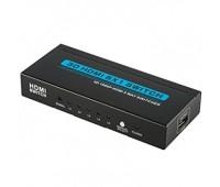 HDMI Switch 5x1 + Remote Control + External IR + Power Supply
