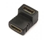 HDMI (f) - HDMI (f) Переходник г-тип Gold-Plated