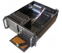 "Case for Server 4U 483 для стойки 19'', Fan 8x2, салазки 3,5""x6, 5,25""x1, 483x428x177 mm, Без Б.П."