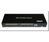 HDMI Splitter 16 port ver 1.3b, FullHD 1080P, 3D, HDCP 1.2, DTS-HD Dolby, SPDIF and Analog Audio