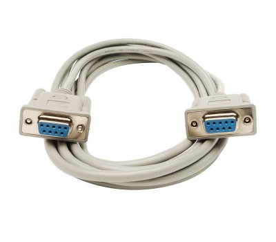 DB9 F/F Normal (1:1) Cable COM (RS-232) 9pin (мама-мама) 1,5m