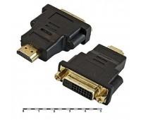 HDMI (m) - DVI (f) (24+1) Convertor Gold-Plated