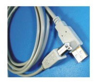 Cable USB 2.0 A-B 3m белый