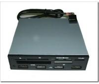 ALL in 1 (Multi Flash Card reader&writer) USB 2.0 + HUB 4 Port int.