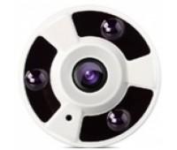 FP20A-200M IP Camera, Панорамная, Рыбий-глаз, Металл, 2 MP 1080P, 1,44mm линза, IR-15m