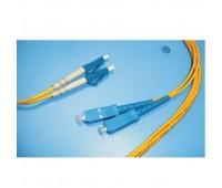 Оптический Patch Cord  3m S929, коннектор LC/SC MM, Duplex, SHIP