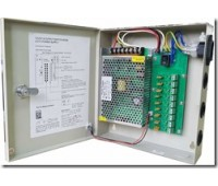 Блок питания металл Ящик  100-240V, Output: DC 12V   5A, 235x205x53   9 каналов Orig. PSC5A-9CH