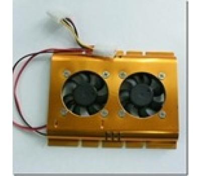 Fan for HDD (2 fan 5x5 cm.)