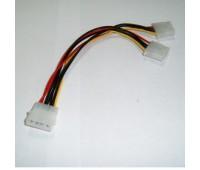 "Cable converter power supply (разветвитель питания) ""MOLEX"" to ""2 * MOLEX"""