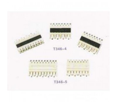 patch panel стандарта 110, 10 контактов, T346-5, SHIP