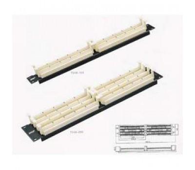 """Кросс Панель стандарта 110, для 19"""" стойки, 200 пар  Длина:482.6 мм T348-200, SHIP"""