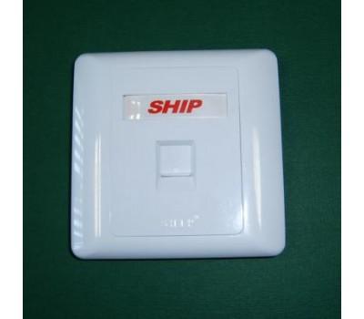 Front panel 1 Port , передняя панель для вставки M245/256  A160-1, SHIP