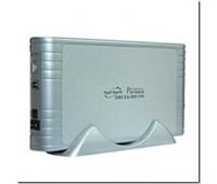 """Mobile Rack 3.5"""" External  Z-TEK, IDE,  USB 2.0+1394+power supply 12v, 5v Silver"""