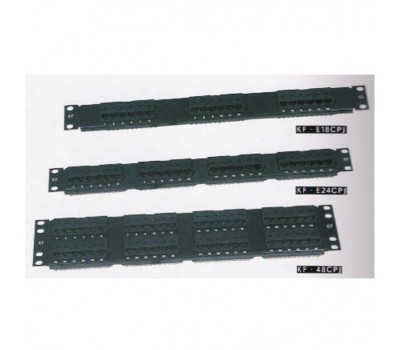 Patch panel 48-port KF.E48CPJ