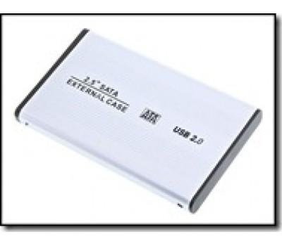 "Mobile Rack 2.5"" External SATA USB 2.0 Silver"