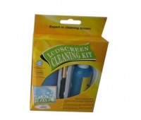 LCD Screen Cleaning Kit (Набор для чистки мониторов: Жидкость 100г, Салфетка, Кисточка)