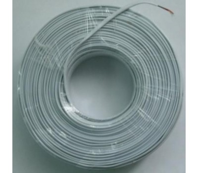 Телефонный кабель 4-х жильный, Белый (продается по 91,44м 100ярд)