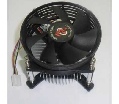 S-775 Fan for Pentium IV, core 2 duo, core 2 Quad, 80x80x25mm, 4 провода, EP775-05C (e)