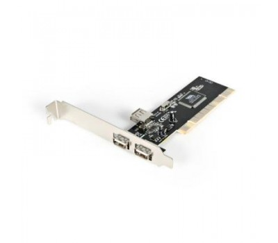 PCI card to USB 2.0 480Mbps 2 ports Ext. + 1 port Int.