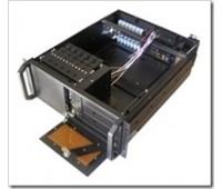 "Case for Server 4U-483 для стойки 19'', Fan 8x2, салазки 3,5""x6, 5,25""x1, 483x428x177 mm, Без Б.П."