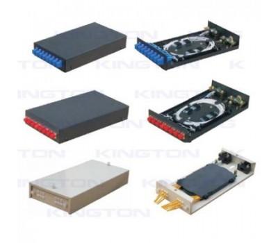 Сплайс-кросс-кассета для укладки оптоволокна на 8port, установлены SC переходники+пигтейлы+т, Taiwan