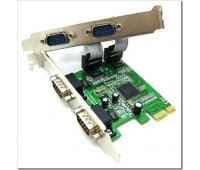 PCI-Express card to RS232 (COM) x 4port, MOSCHIP MCS9904+CD