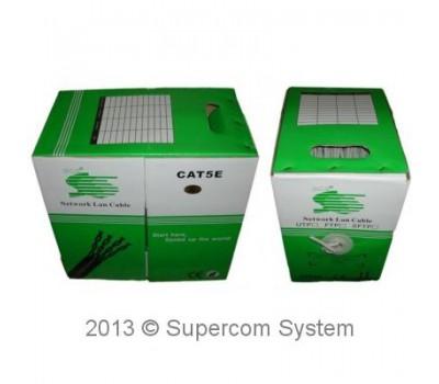 Cable SFTP-5e cat SCS Profesional 24AWG, CU (медь) (2 экрана) Outdoor Бухта 305m Original R