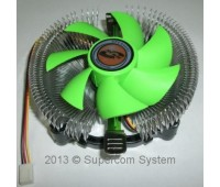 S-1150/1151/1155/1156/775, AMD Universal Fan, 2500rpm, 25db, 8,5cm FAN, 12V 0,24A, + паста FB-801