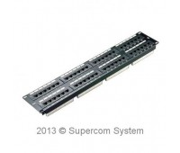 Patch panel 48-port  RJ-45 6 Cat. DATA LINK