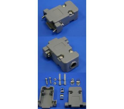 Пластмассовый корпус для Разъёма COM, VGA (мама, папа) 9pin (для пайки)