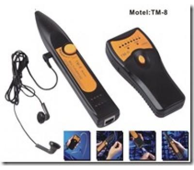 -Тестер с наушниками для RJ-45, RJ-11 TM-8