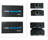 HDMI EXTENDER 100m (удлинитель по LAN) HD STB, DVD, PS3, HDMI, HD Projector, DLP, LCD + Power Supply