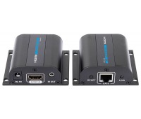 HDMI EXTENDER 60m (Передает аудио, видео и ИК-сигналы по одному кабелю LAN) FullHD 1080P, 3D, DTS-HD