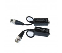 Video Balun AHD/CVI/TVI 1 Channel Passive Video Transceiver UTP UP 400m (комплект 2шт) VB300 HM-213A