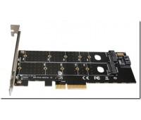 PCI-Express 3.0 до NVME M.2 NGFF SSD 110mm M_Key и B_Key PCIe M2 Riser Card